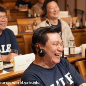 International Research Collaboration, the Yale-Fudan Example