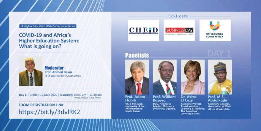 CHEiD Host A Higher Education Web Conference Series